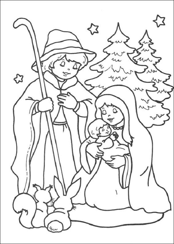 Navidad dibujos para colorear for Dibujos de figuras de navidad para colorear