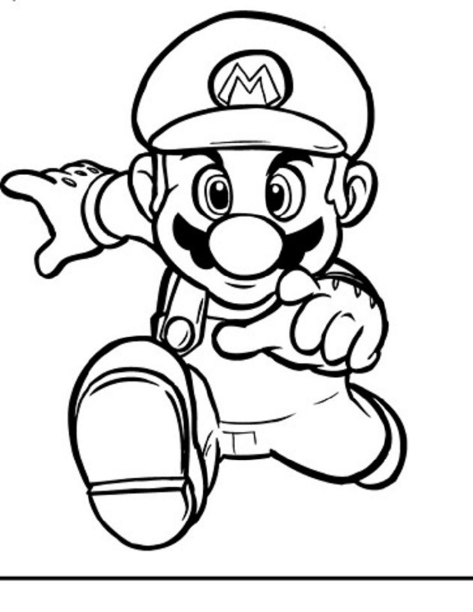 Super mario bros dibujos para colorear for Koopa coloring pages