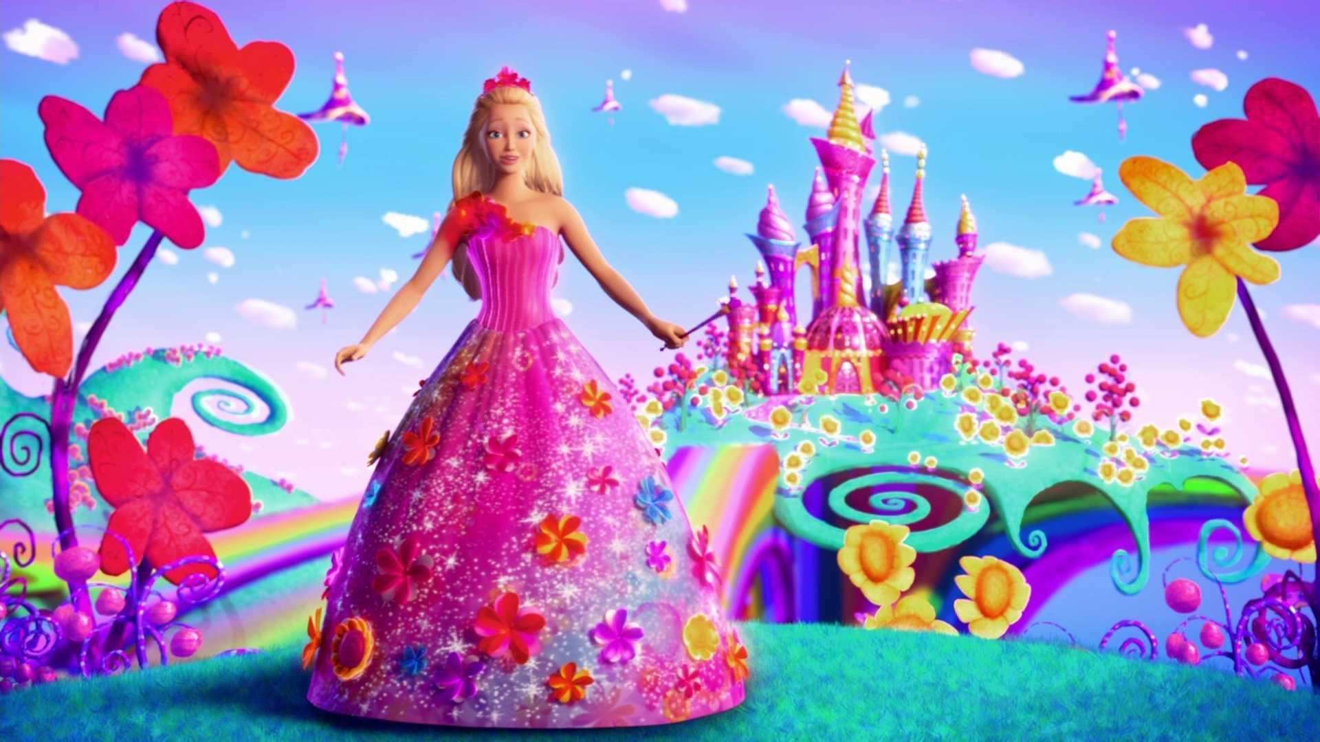 Dibujos para imprimir de barbie dibujos para colorear for Paisajes para murales de pared