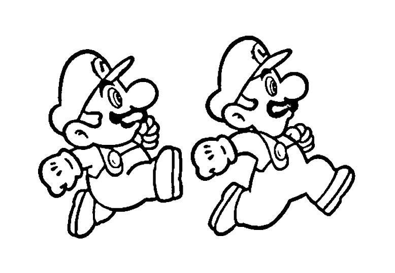 Dibujos De Super Mario Para Colorear E Imprimir 2: Dibujos Para Colorear