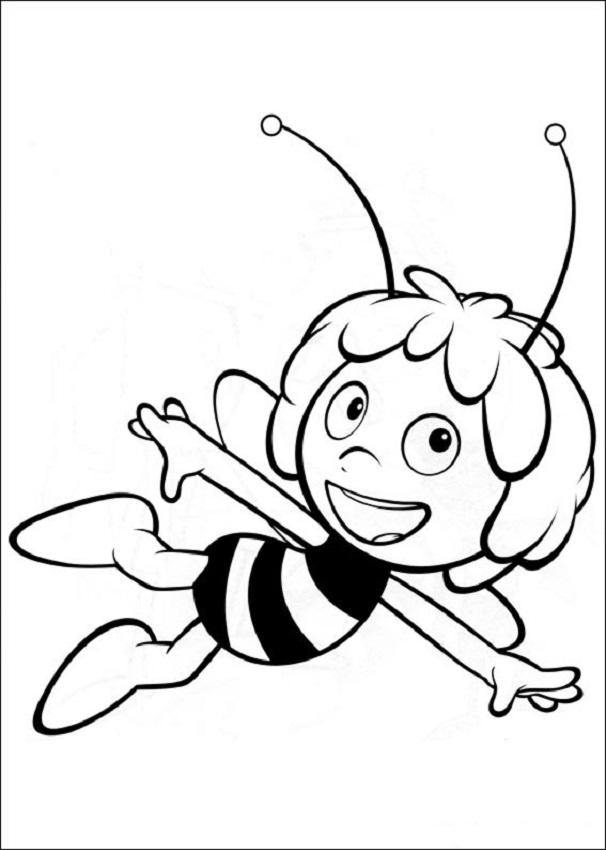 Maya volando