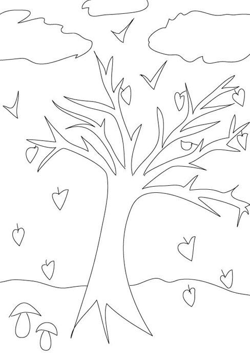 OTONO_PARA_COLOREAR_32 - Dibujos para colorear