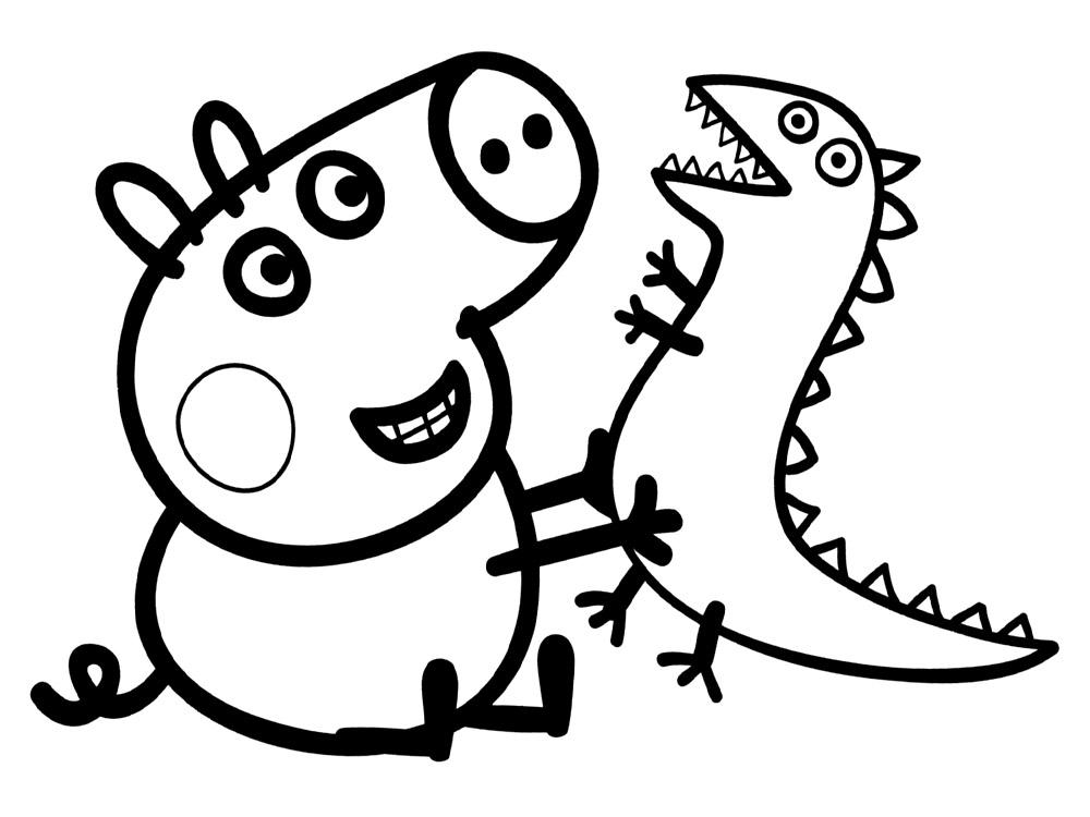 Dibujos peppa pig para imprimir y colorear dibujos para for Imagenes de un estanque para colorear