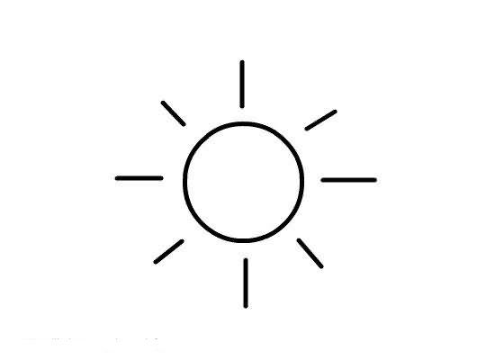 Dibujos De Sol Para Colorear E Imprimir: Dibujos Para Colorear