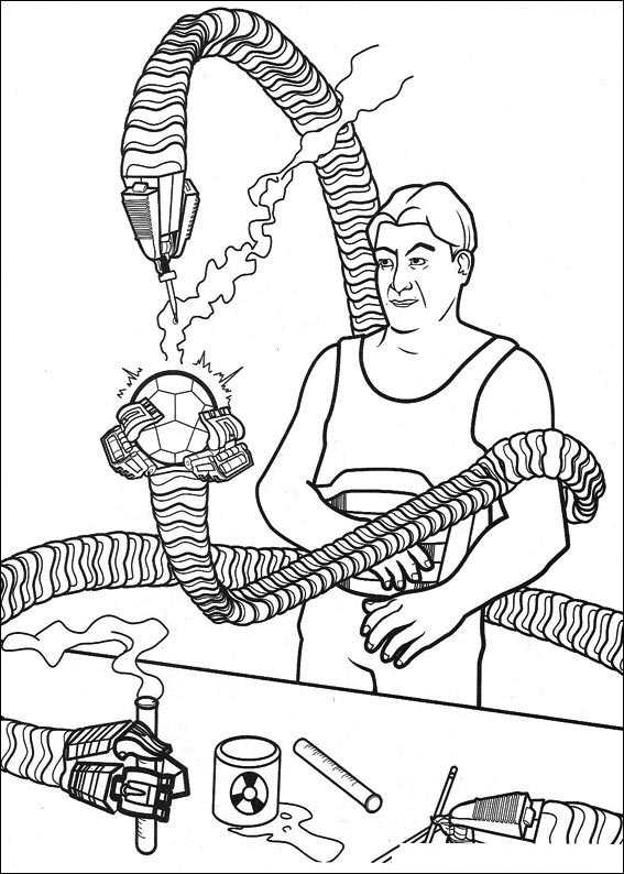 SPIDERMAN_PARA_COLOREAR_28 - Dibujos para colorear
