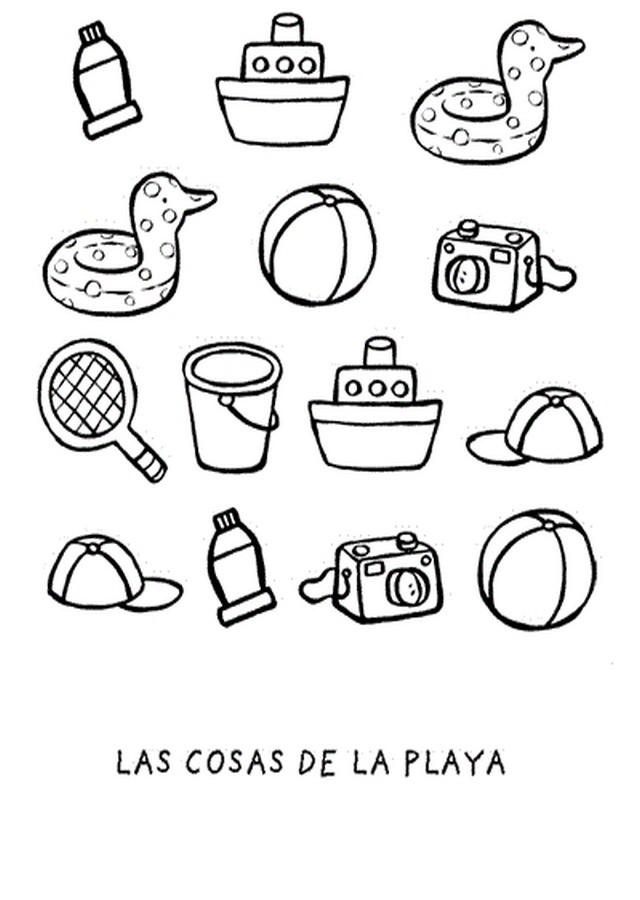 💠Verano - Dibujos para colorear