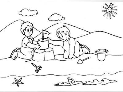 VERANO_PARA_COLOREAR_53 - Dibujos para colorear