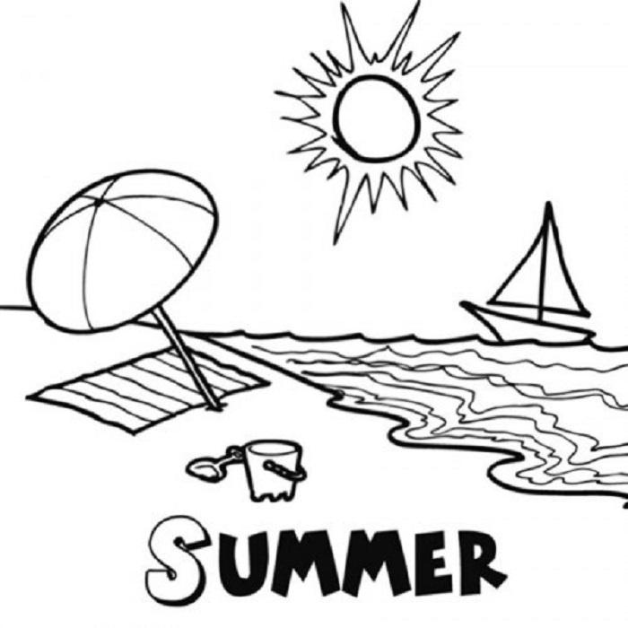 dibujo-de-la-estacion-de-verano-para-imprimir-y-colorear