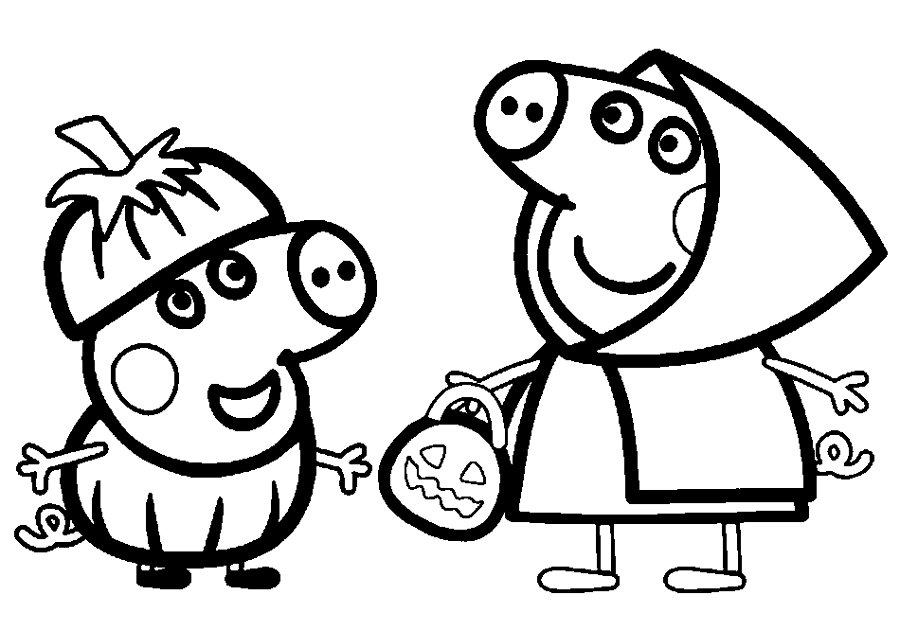 💠Dibujos Peppa pig para imprimir y colorear   Dibujos para colorear
