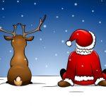 Weihnachtszeichnungen zu malen