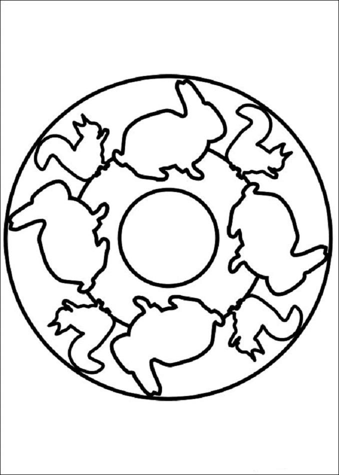 mandala-animales-ardillas-conejos