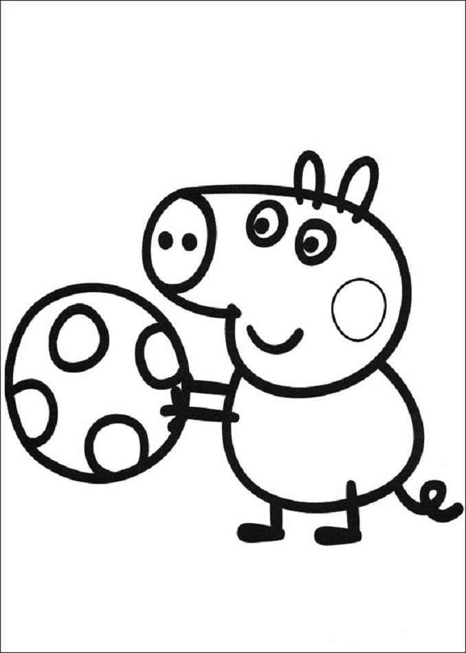 Dibujos Peppa Pig Para Imprimir Y Colorear Dibujos Para Colorear