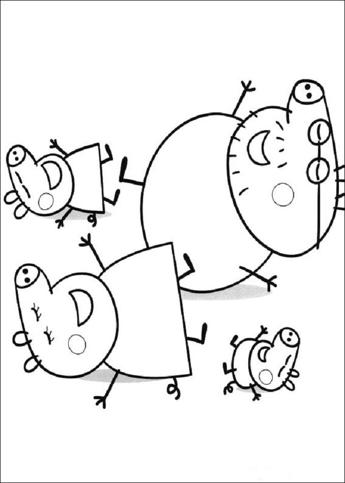 Dibujos Peppa Pig Para Imprimir Y Colorear Dibujosparacolorear Eu
