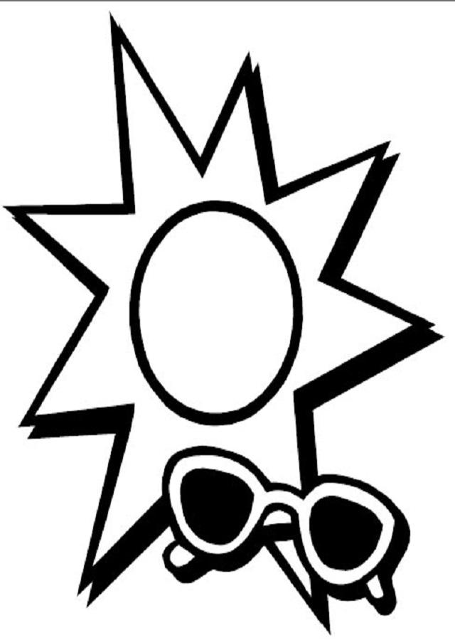 744755b615 💠El Sol - Dibujos para colorear