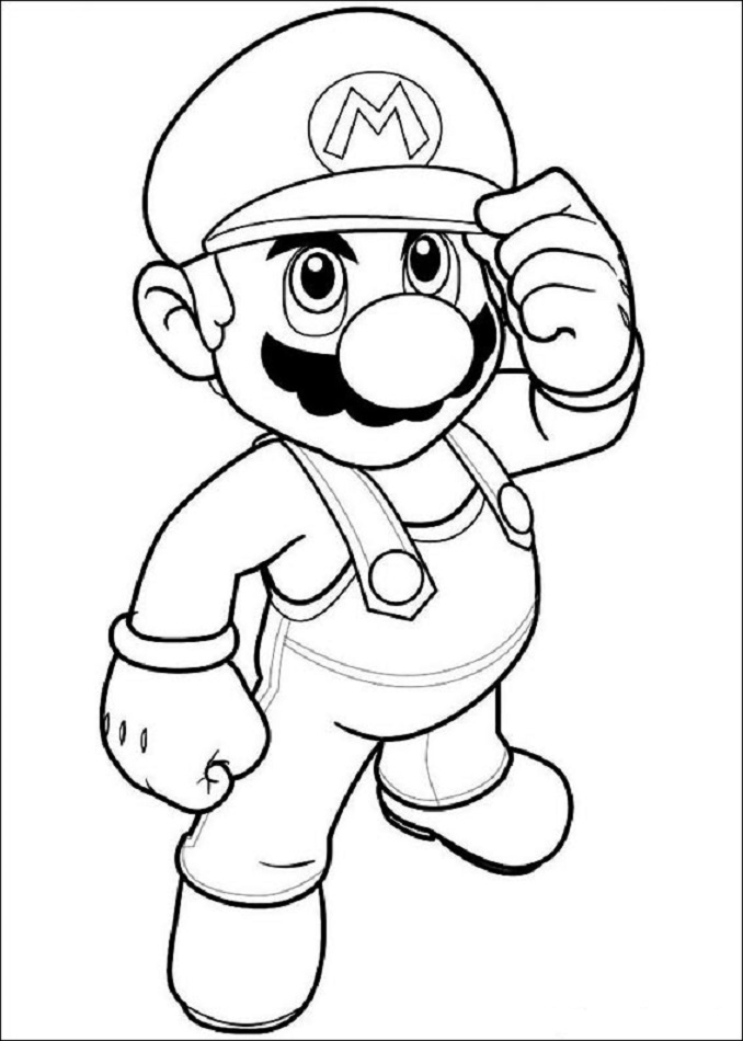 super-mario-bros-para-colorear