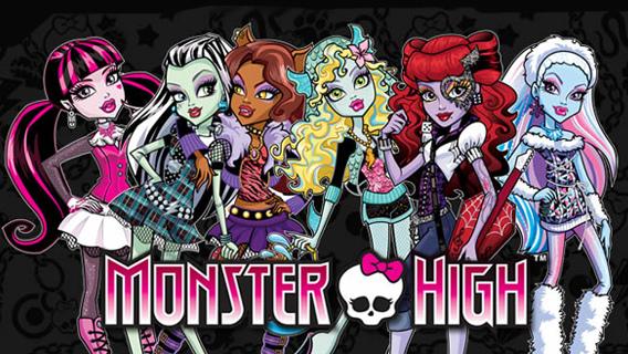 Monster High Dibujos Para Colorear