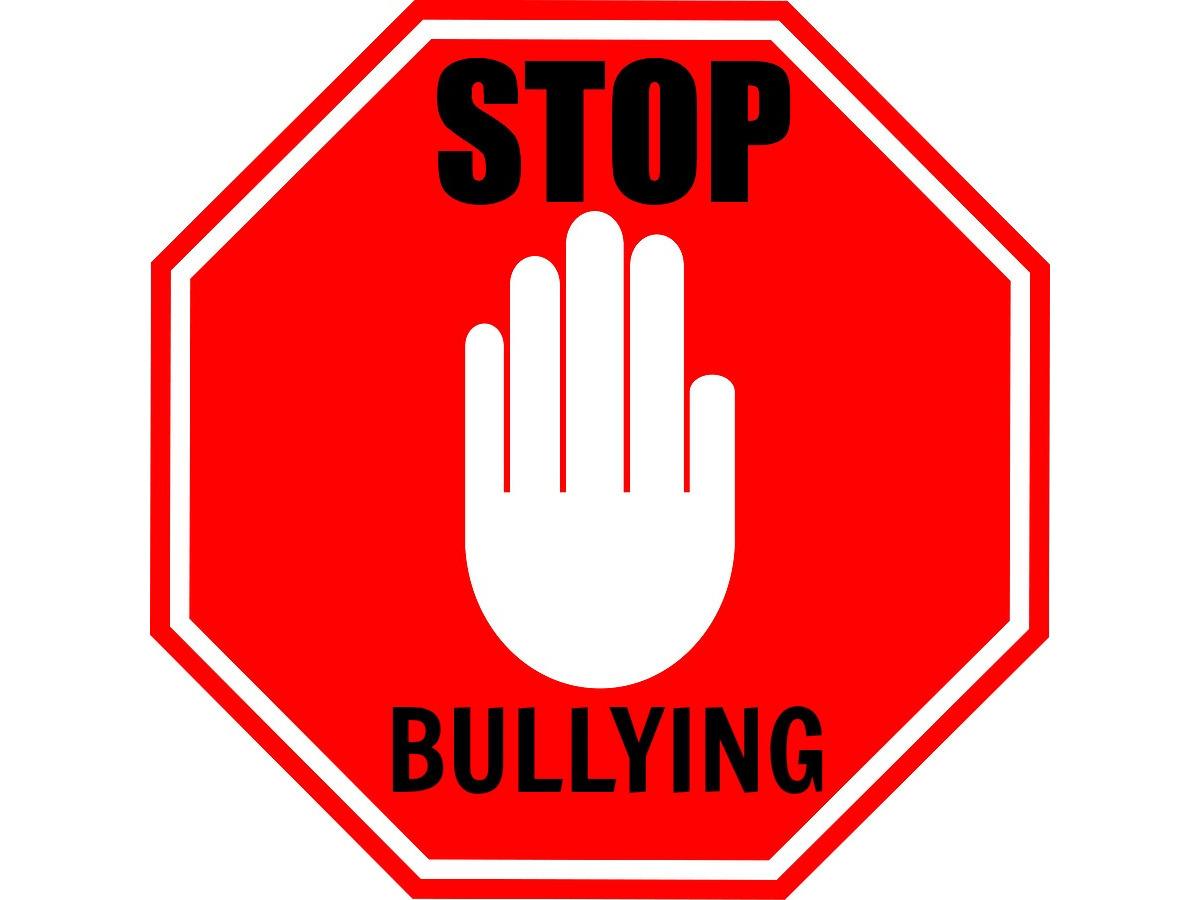 carteles de no mas bullying para colorear y poner en las clases