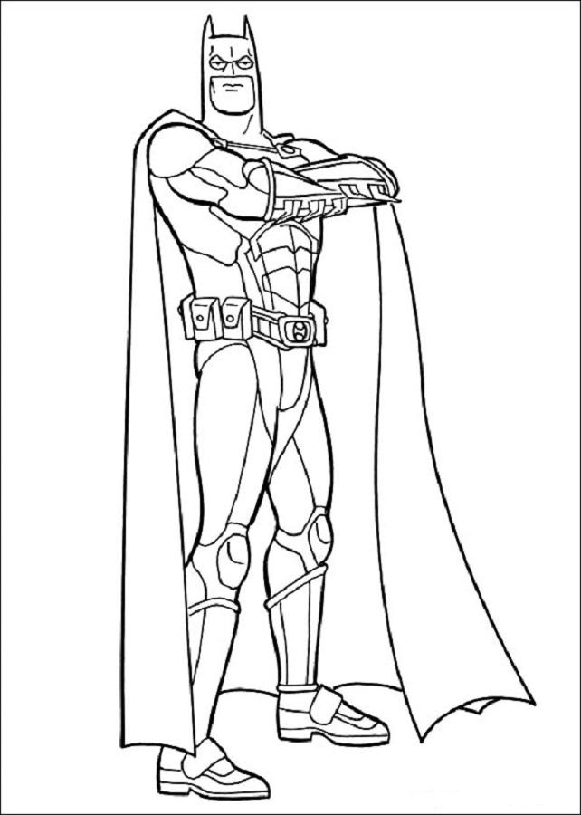 💠Dibujos de Batman - Dibujos para colorear