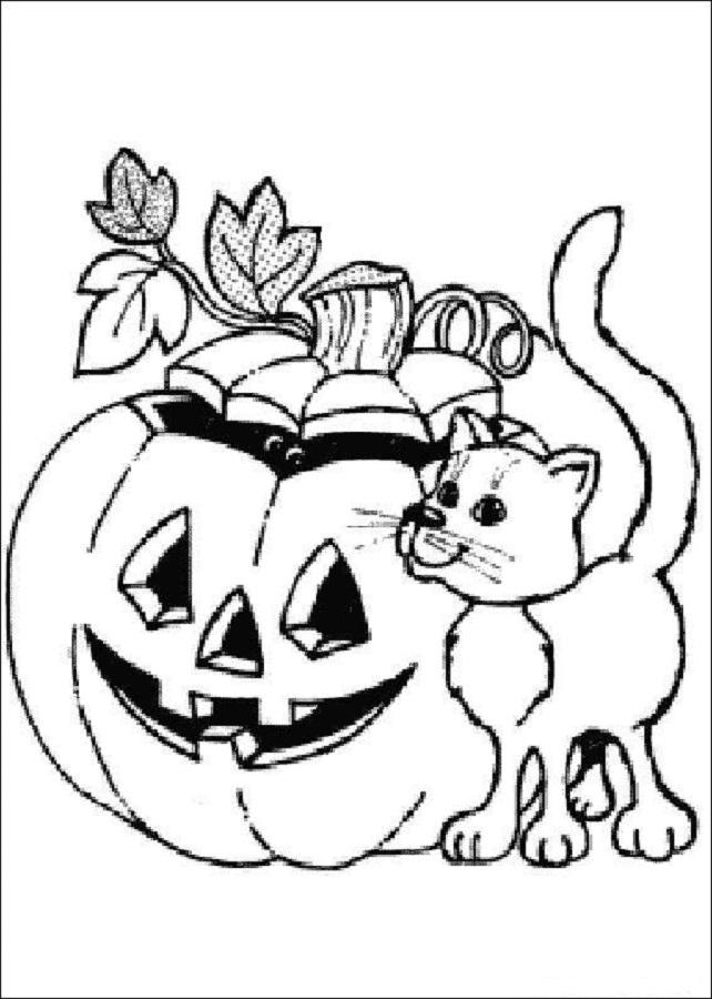 halloween-calabaza-para-colorear – Dibujos para colorear