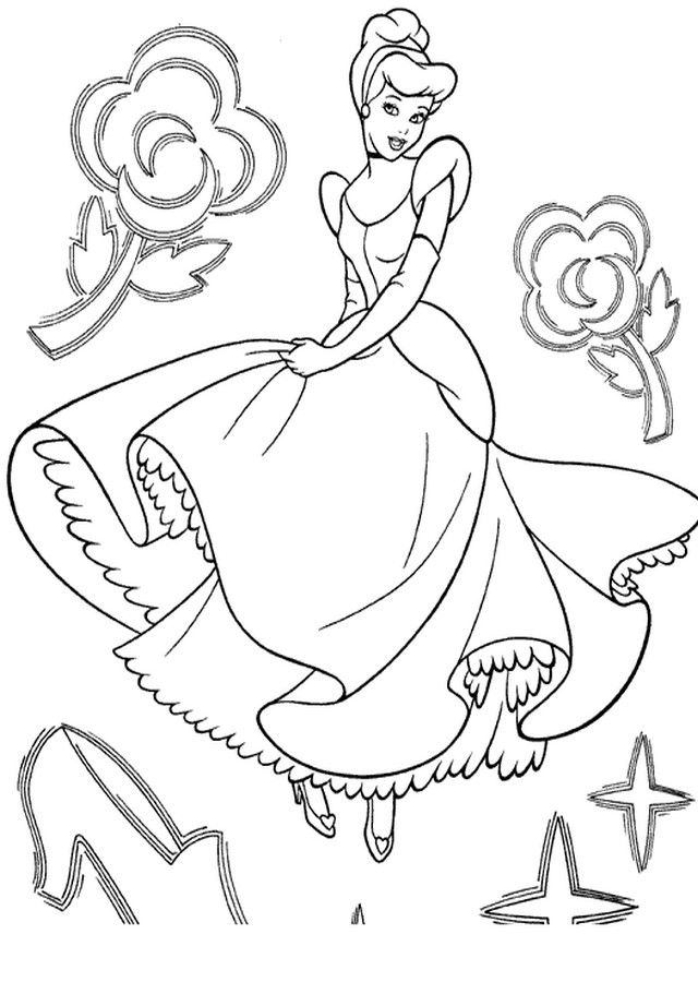 Dibujos De Cenicienta Dibujos Para Colorear
