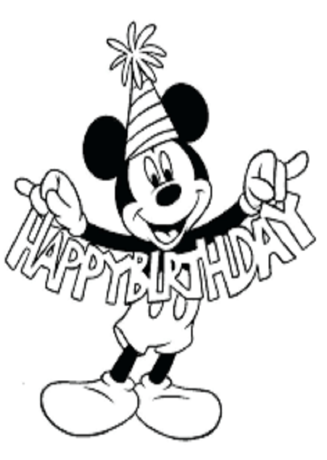 💠Dibujos de Mickey / Minnie / Pato Donald - Dibujos para colorear