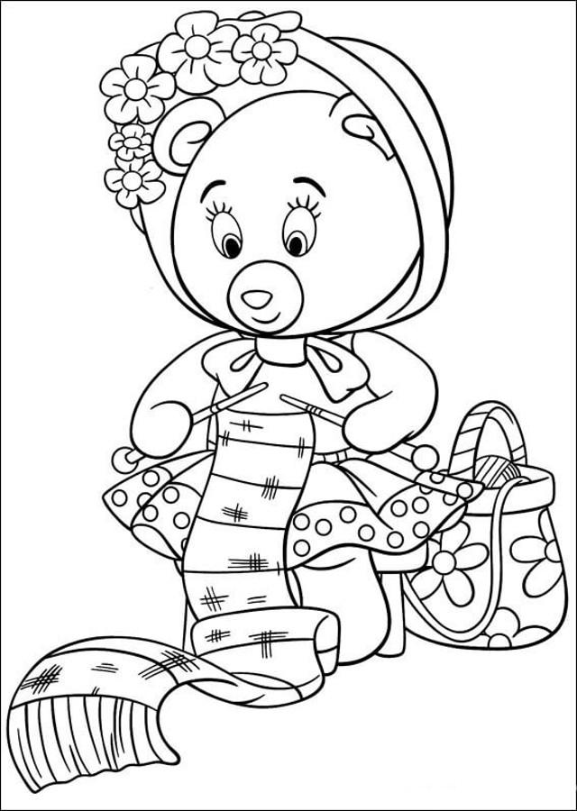 tessie-la-amiga-oso-de-noddy-para-colorear