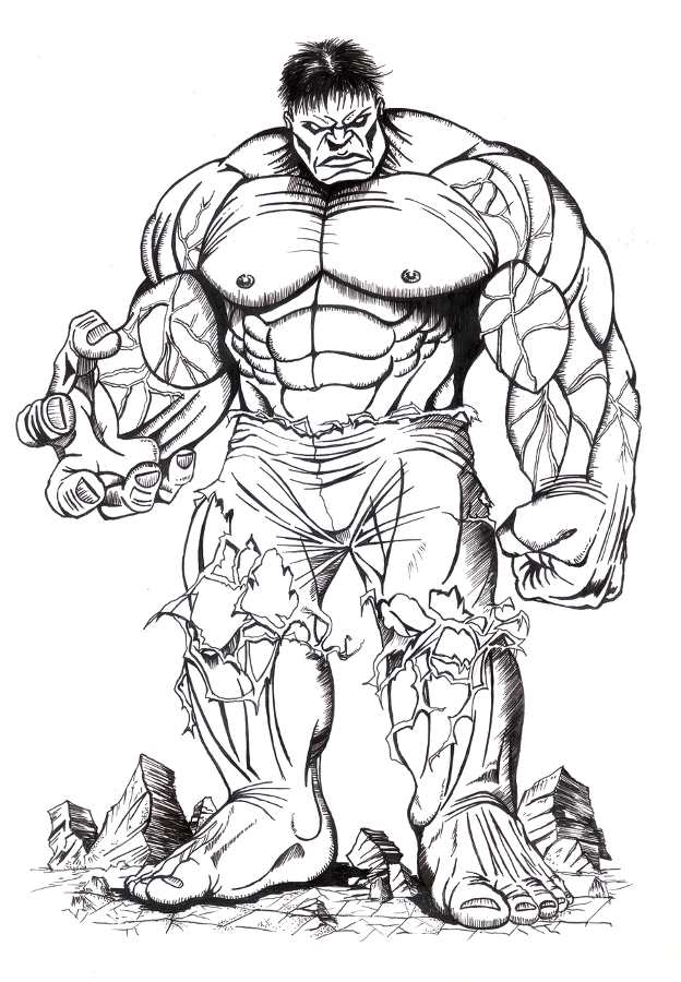 dibujo-de-hulk-para-colorear