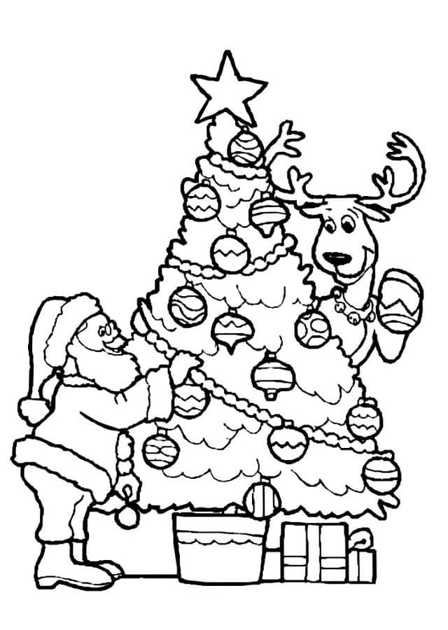 Dibujos De Papa Noel Dibujos Para Colorear