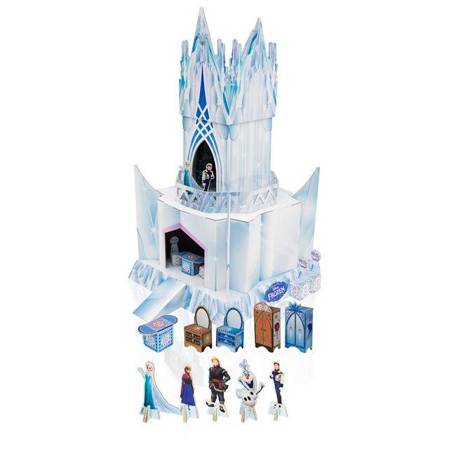 ✅Comprar Palacio de hielo Frozen Disney - Dibujos para colorear