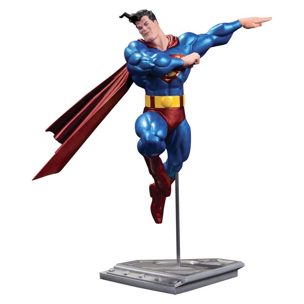 ✅Comprar Estatua Superman DC Comics metalico version Frank Miller ...