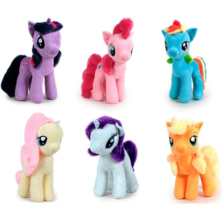 ✅Comprar Peluche Mi Pequeño Pony soft 17cm surtido - Dibujos para ...
