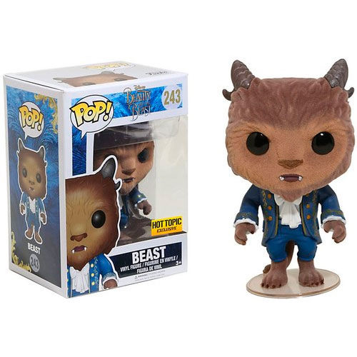 ✅Comprar Figura Vinyl POP! Beauty & the Beast Bestia Flocked ...