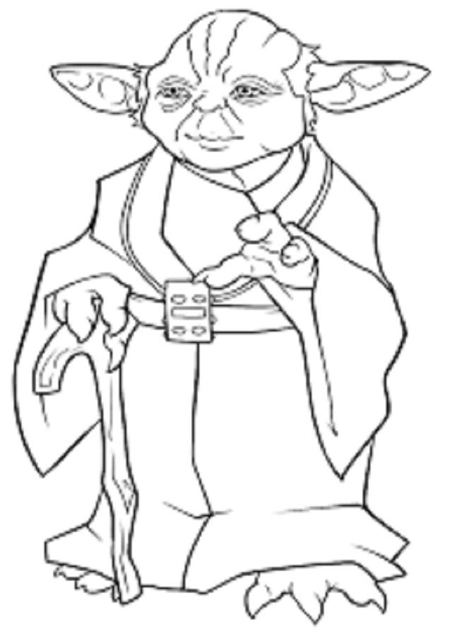 personaje de Star wars llamado Yoda