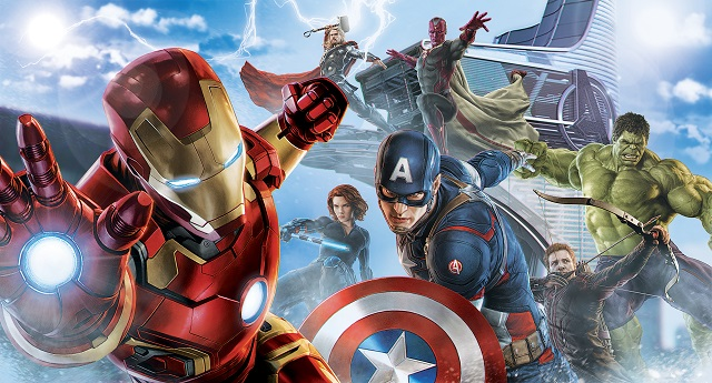 imagen personages avengers: Capitan America, Iroman, Hulk, Thor