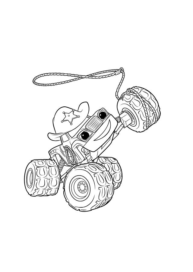 Starla es una divertida vaquera y máquina monstruosa. Una experta con el lazo en las carreras, nunca teme expresarse a través de alguna ocasional canción campestre.