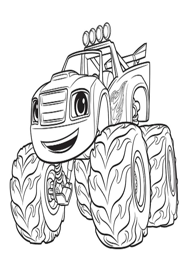 Blaze es el héroe de Ciudad Axle y el corredor número 1. Es rápido y temerario, invencible en la pista de carrera gracias a su velocidad, piensa rápido. Sabe todo sobre ciencia, tecnología, ingeniería y matemática. Cuando las cosas se ponen difíciles, utiliza sus conocimientos científicos para transformarse en una máquina. Blaze es el único camión en la ciudad con un conductor humano, su mejor amigo, AJ. Juntos comparten cada éxito y fracaso.