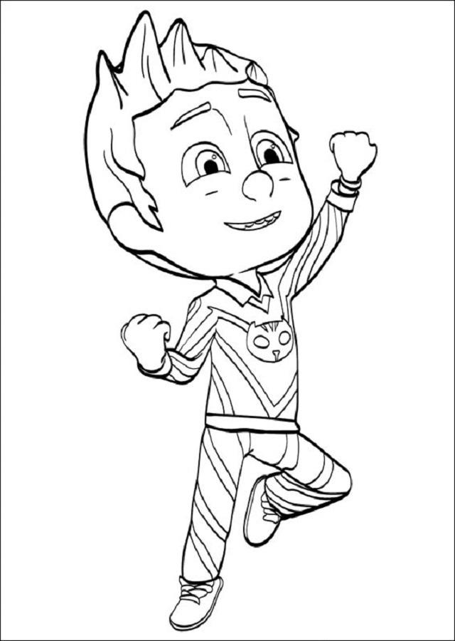 Connor es un niño de 6 años que por la noche se convierte en gatuno.