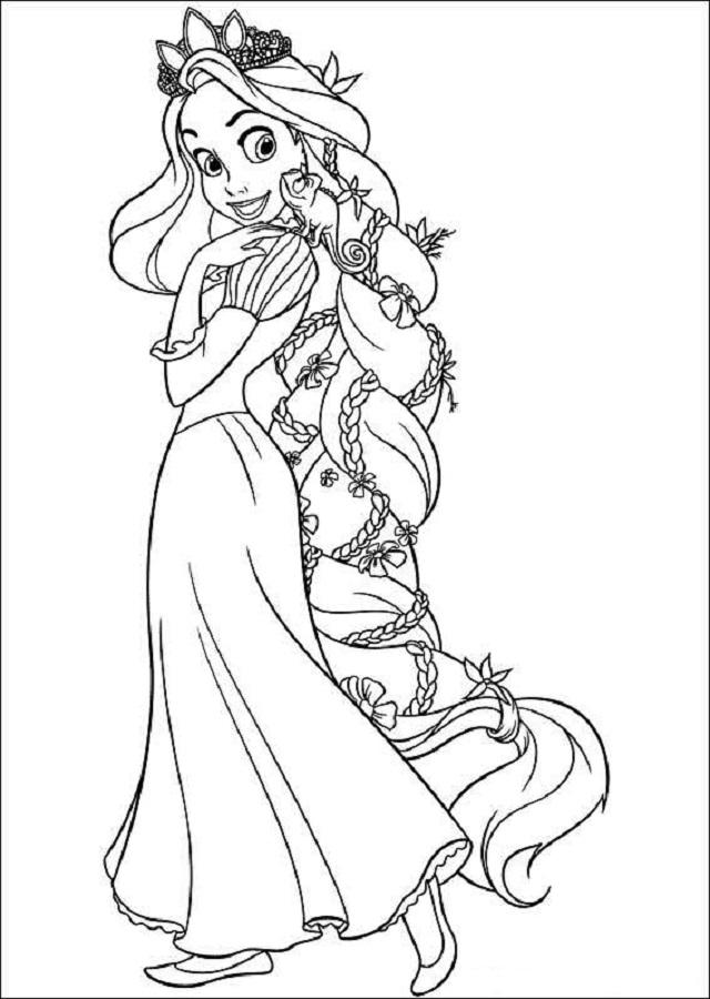 Dibujos Para Colorear Princesas Dibujos Para Colorear