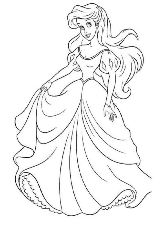 a benjamina del rey Tritón, es independiente, impulsiva y aventurera. Ariel está decidida a perseguir sus sueños, y no los de los demás, arriesgando con valor todo lo que tiene para hacerlos realidad.