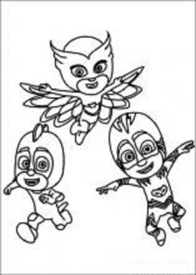 imagen para colorear de Buhita, Gatuno, Connor