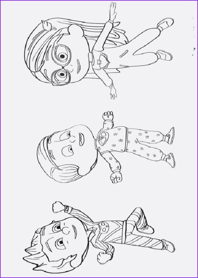 Pj Mask Dibujos Para Colorear