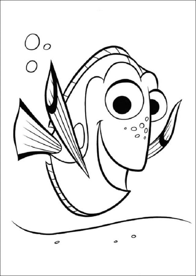 Ella sufre de pérdida de memoria a corto plazo, lo cual normalmente no modifica su actitud alegre –hasta que comprende que ha olvidado algo realmente importante: su familia-. En Marlin y Nemo ha encontrado una nueva familia, pero está atormentada por la creencia de que hay alguien por allí que la busca.