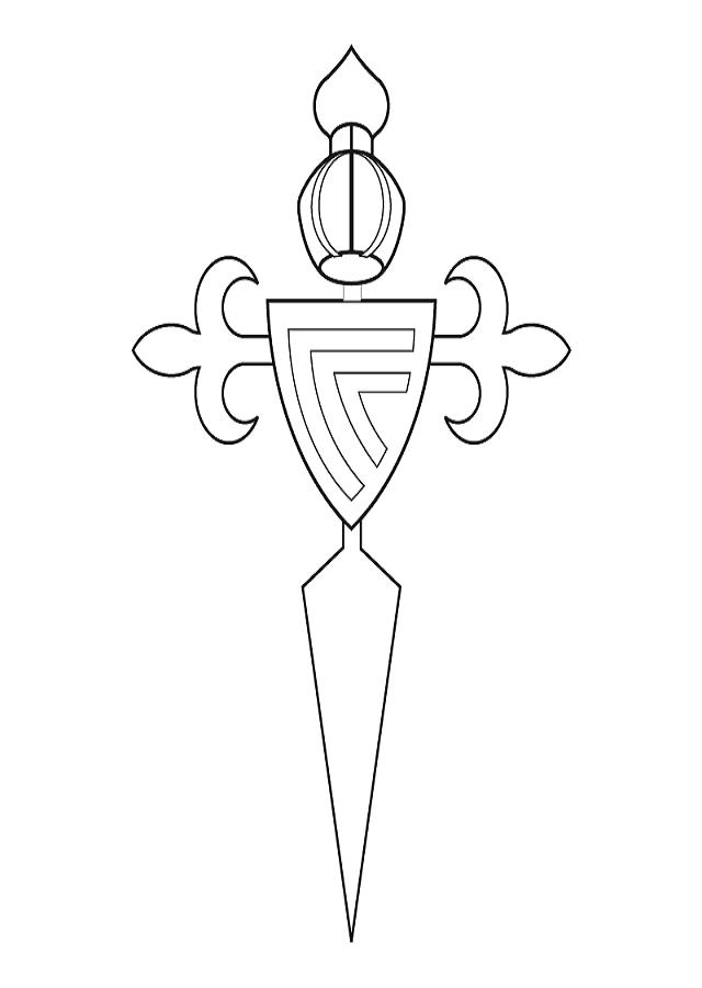 escudo para pintar