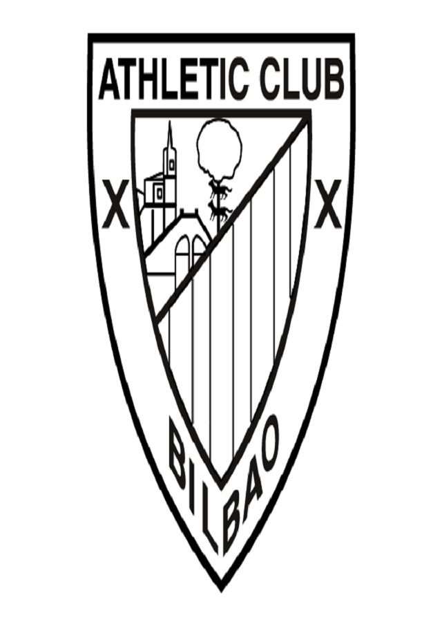 dibujo escudo athletic club de bilbao