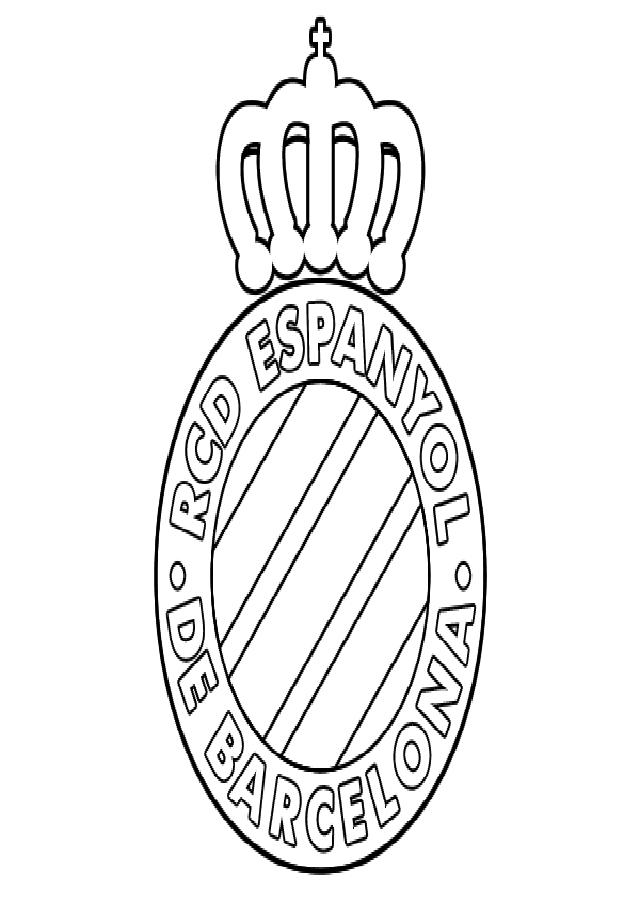 escudo para colorear