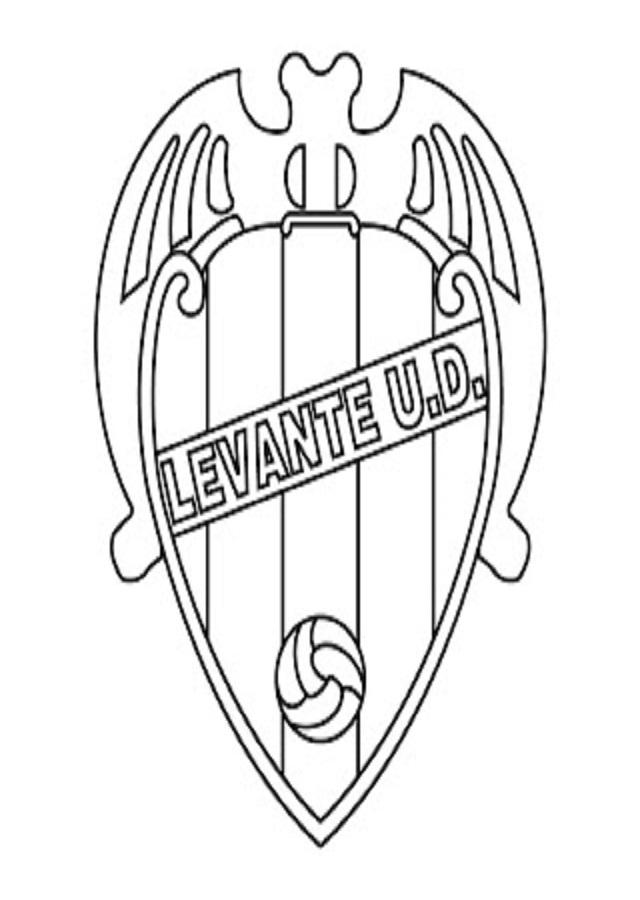 imagen escudo del levante para pintar