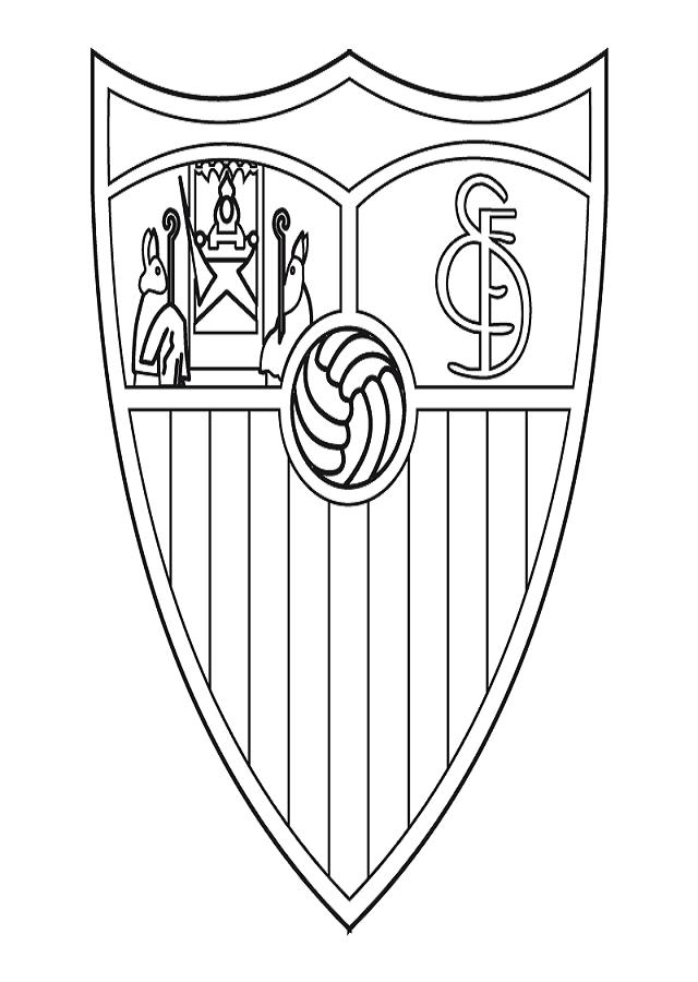 escudo para pntar sevilla