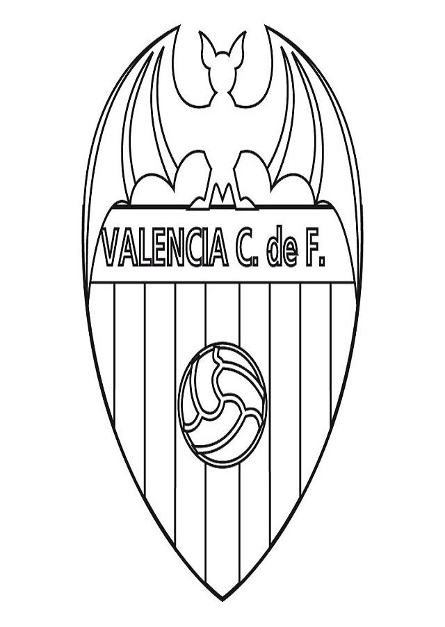 Escudo Del Barcelona Fc Para Colorear