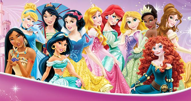 imagen todas las princesas disney