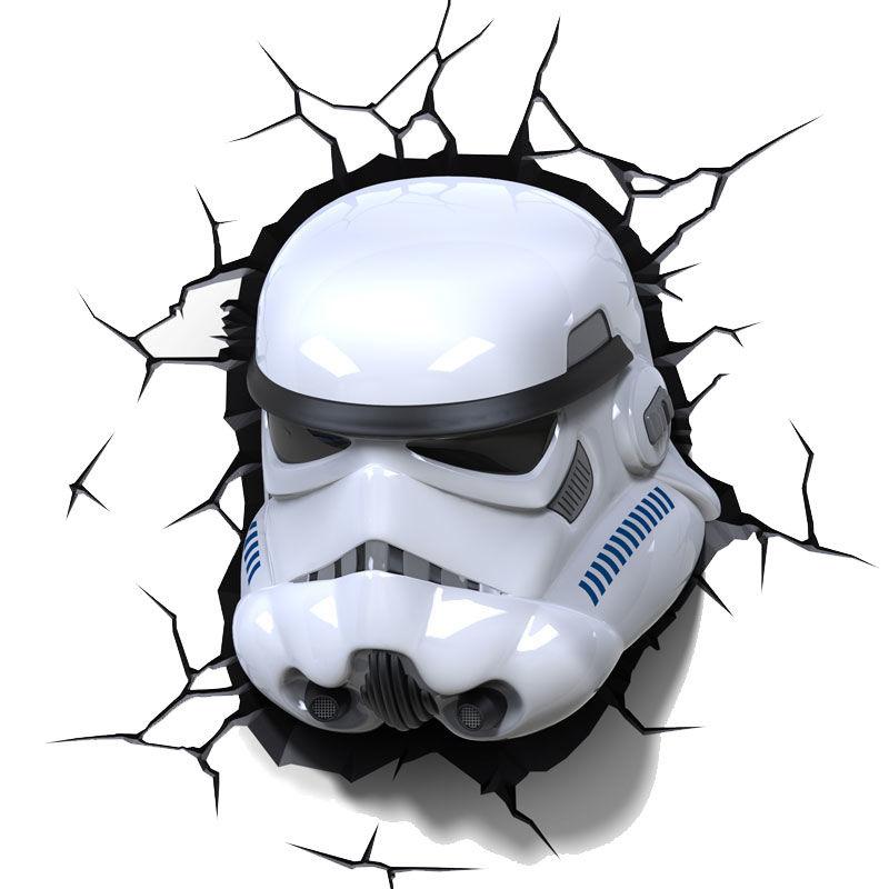 Comprar lampara led 3d pared stormtrooper star wars disney dibujos para colorear - Oggetti strani per la casa ...